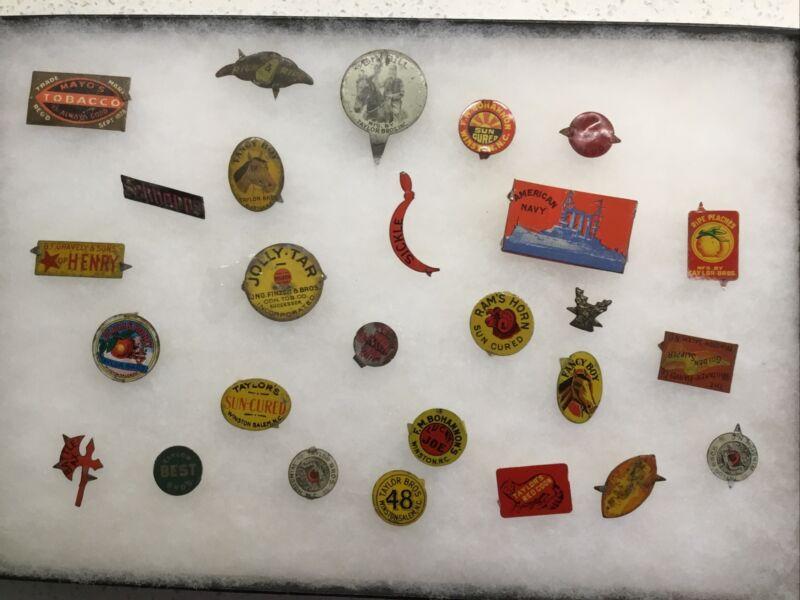 Vintage Tobacco Tags Lot, 27 Tags