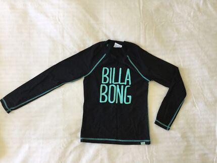 Billabong Girls Rash - size 8