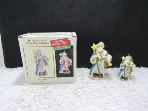 "1992 International Santa Claus Collection ""Star-Man"" Poland Double Pack"