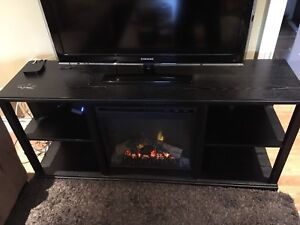 Fireplace Media Console TV stand