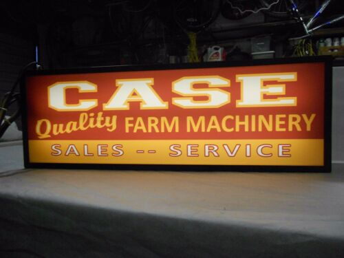 Case Lighted Sign