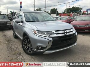 2016 Mitsubishi Outlander GT | 7PASS | LEATHER | ROOF | AWD