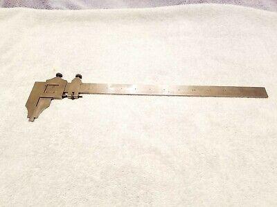 Vintage The L.s. Starrett Co. No.122 13 Vernier Caliper Micrometer Made In Usa
