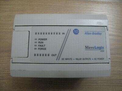 Allen Bradley 1761-l16bwa Ser E Fw 1.0 Micrologix 1000 Controller Processor Plc