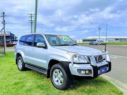 2006 Toyota Prado GXL 8 Seater T/Diesel Wagon – ONLY 170***Klms! Garbutt Townsville City Preview