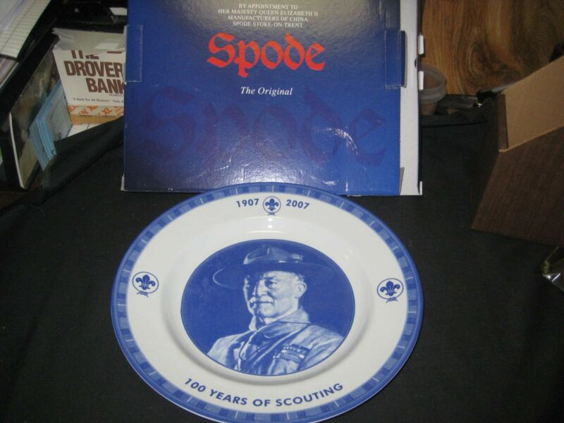 Baden-Powell 100 Years of Scouting Ceramic Plate
