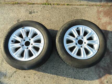 Holden Commodore 16 x 7 alloy mag wheels with tyres Eaton Dardanup Area Preview