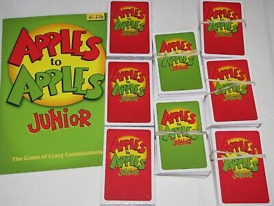 Apples To Apples Junior Replacement cards New & used -