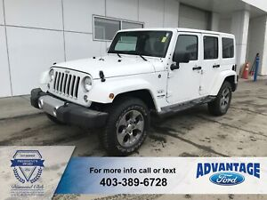 2018 Jeep Wrangler JK Unlimited Sahara Clean Carfax - Leather