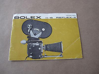 Винтажные книги Vintage Original Bolex H16