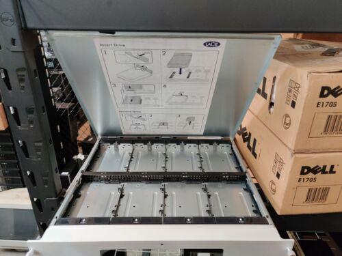 LaCie 8big Hard Drive Rack THUNDERBOLT 2 Mac Apple - Used, No Drives j