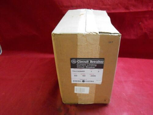 Ge  Thlc436400  Circuit Breaker  600vac 400amp 3-pole Tlb - New/unopened