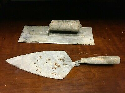 2pc Hand Concrete Cement Trowel Finishing Tool Set