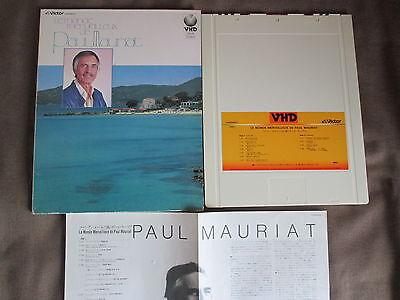 PAUL MAURIAT Le Monde Merveilleux de JAPAN-ONLY VHD w/Slip Case+Insert VHM58027