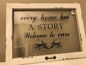 Home decor sign