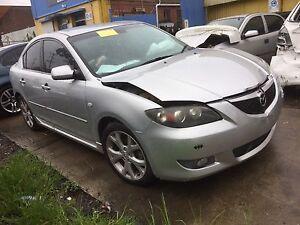 Mazda 3 wrecking Melbourne CBD Melbourne City Preview