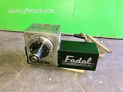 Fadal 4th Axis Rotary Table Model Vh65 With 5c Collet Closer