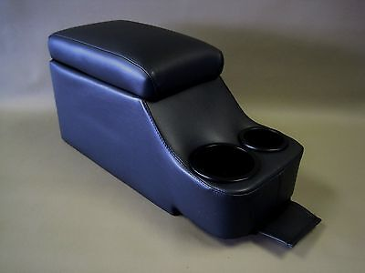 (Crown Victoria Deluxe Fully Upholstered Dark Black Center Console P71 Police)