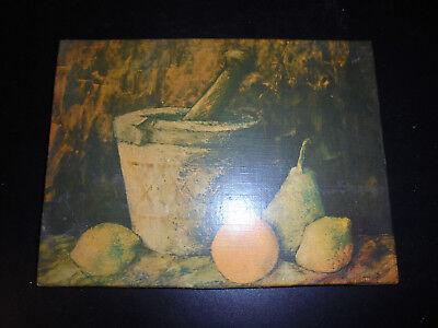 Leinwanddruck J.Marque Stilleben mit Früchten