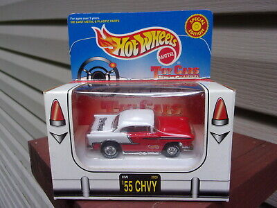 Hot Wheels Toy Cars and Vehicles '55 Chevy - Limited Edition - 1:64 Scale