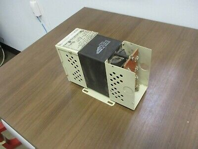 Sola Constant Voltage Transformer 23-22-112-2 Missing Cover Used