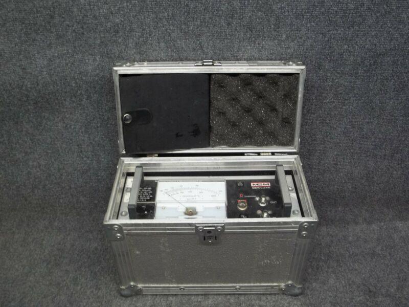 MCM 600 DDL Dewluxe Portable Moisture/Dewpoint Hygrometer Control Analyzer