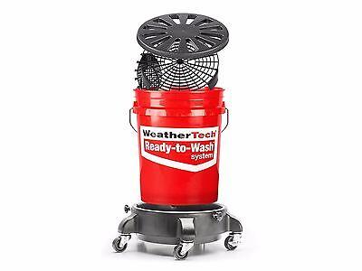 "Weathertech Car Wash Bucket >> WeatherTech TechCare Ready to Wash ""Just Add Water ..."