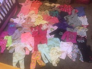 Baby girl clothing lot