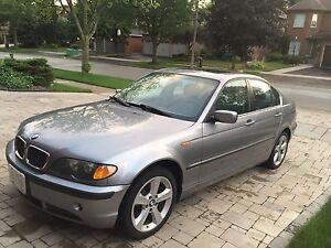 BMW 330XI AWD in excellent shape, well maintained,2005