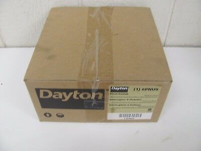 Dayton 6pnu9 Float Switch Mechanical 115vac 20ft