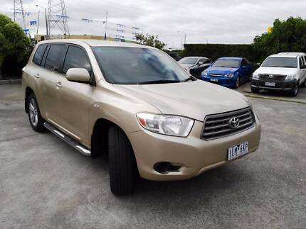 2010 Toyota Kluger Wagon KXR 7 SEATS Ravenhall Melton Area Preview