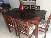 Dining table and chairs Carina Brisbane South East Preview