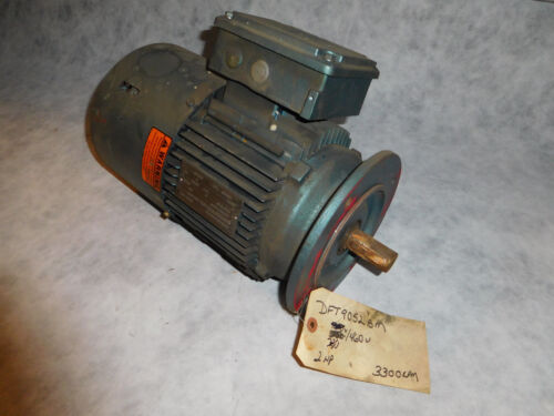 Sew Eurodrive DFT90S2BMG2HR Electric Motor with Brake 2HP 3300RPM