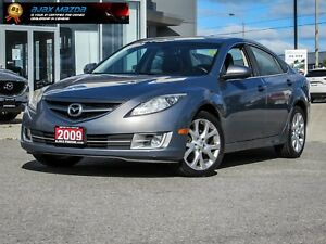 2009 Mazda Mazda6 GT, MT, LEATHER, SUNROOF