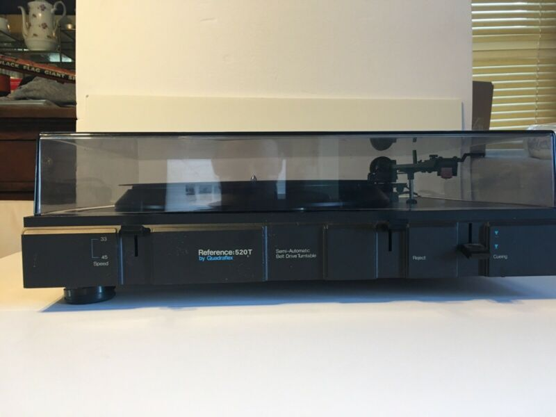 Quadraflex Reference 520T Turntable. Motor and Belt Work.