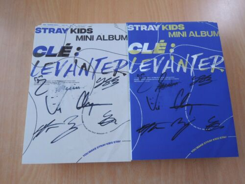 Stray Kids CLE 3:LEVANTER (Promo) with Autographed (Signed) Last stock