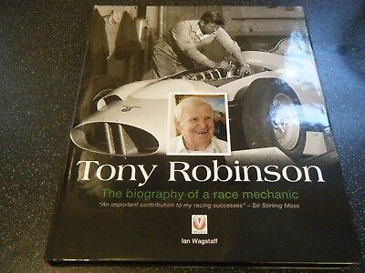TONY ROBINSON BRITISH RACING PARTNERSHIP STIRLING MOSS INNES IRELAND FERRARI 250