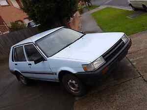 1987 Toyota Corolla (no reg) Rowville Knox Area Preview