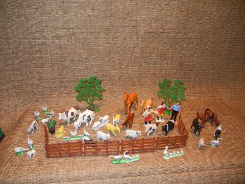 Vintage Small Farm Animal Playset