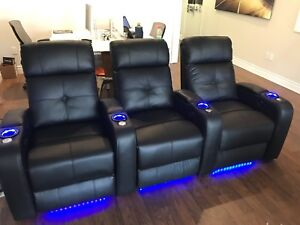 Home Theater Sears - Row of 3 (brand new)