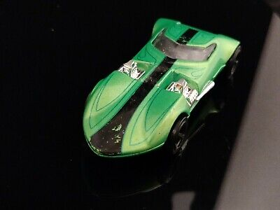 HOT WHEELS 1969 TWIN MILL GREEN HOT ROD CONCEPT CAR TOY 2011-13