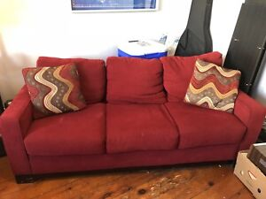 3-Seater Couch with Matching Chair $100 for both!