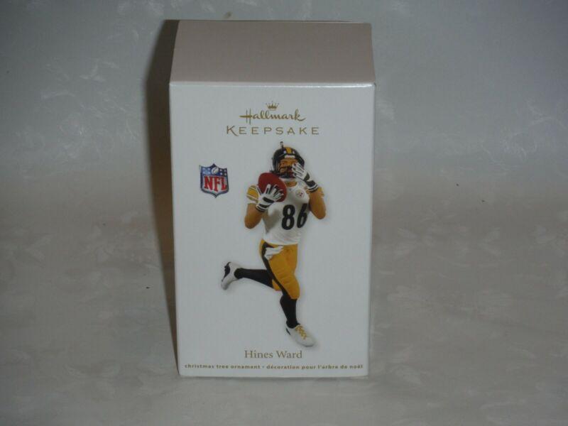Hines Ward 2012 Hallmark Keepsake Christmas Ornament Pittsburgh Steelers New