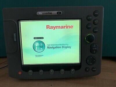 Raymarine E80 MFD -LED backlight conversion and suncover
