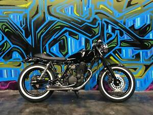 YAMAHA SR400 CAFE RACER CUSTOMISED BY MOTOINK Coburg Moreland Area Preview