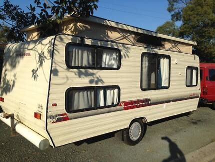 CARAVAN WINDSOR 17 FT BUNK BEDS FINANCE AVAILABLE FROM$55PW T.A.P Thorneside Redland Area Preview