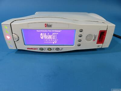 Masimo Radical V 7 Portable Pulse Co Oximeter Spo2 Docking Station V7 Rrds-1