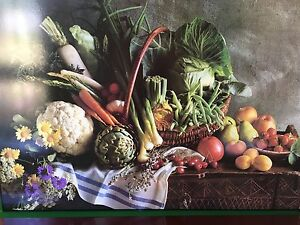 Fruit and Vegetable Print Wilberforce Hawkesbury Area Preview