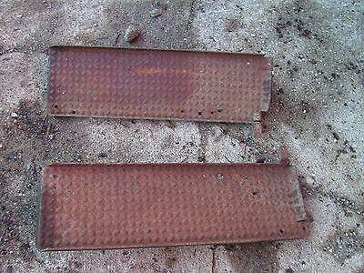 Cockshutt 30 Tractor Original Pairset Of Platform Step Steps Right Left