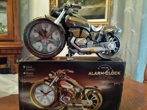 Creative Motorcycle of Luxury Retro Style Desk Decor Gift for Child